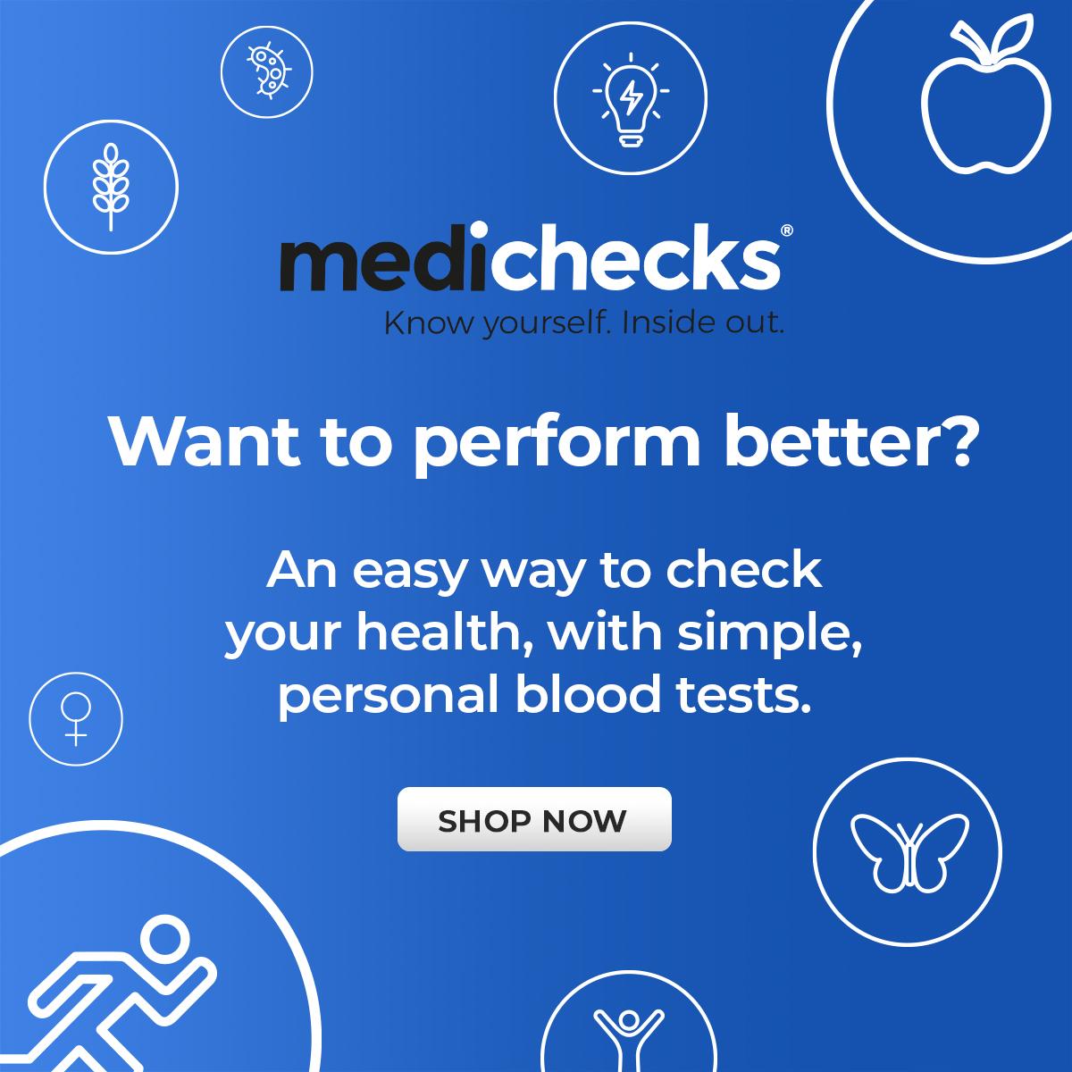 Medichecks Banner