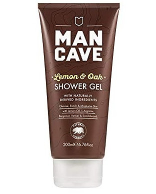 man cave shower gel