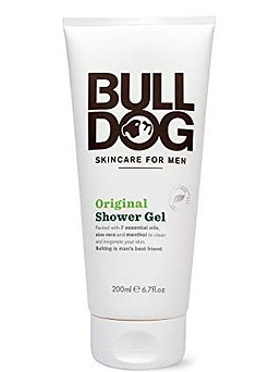 Bull dog shower gel