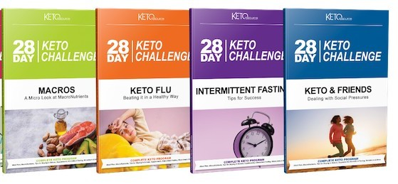28-day keto challenge guides