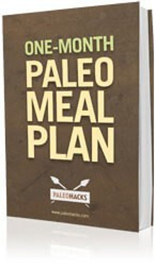 One Month Paleo Meal Plan Group Book