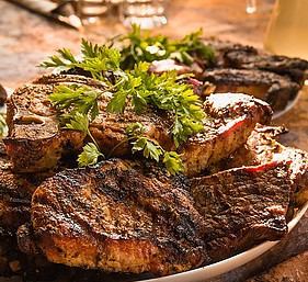 Plate Of Steak