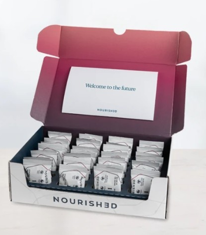 Get nourished packaging