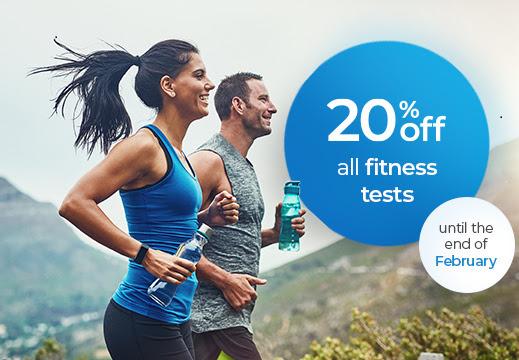 Medichecks UK 20% off Fitness Test