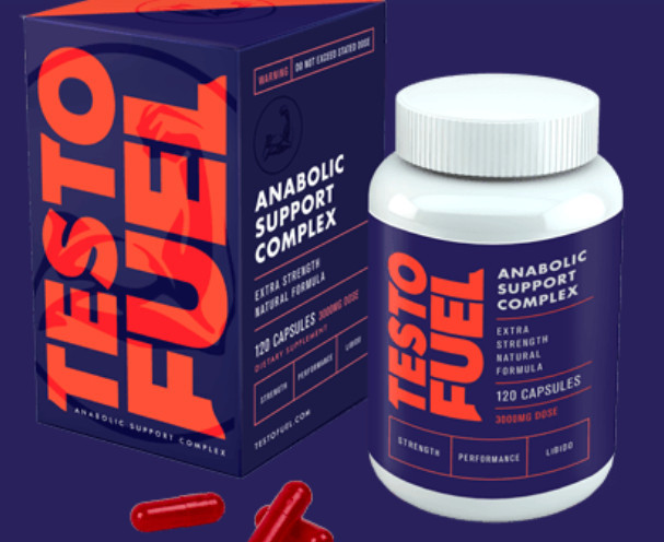 testofuel bottle & pills